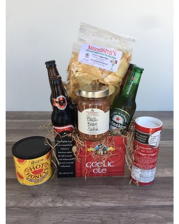 Local NC Beer Tier Gift Basket