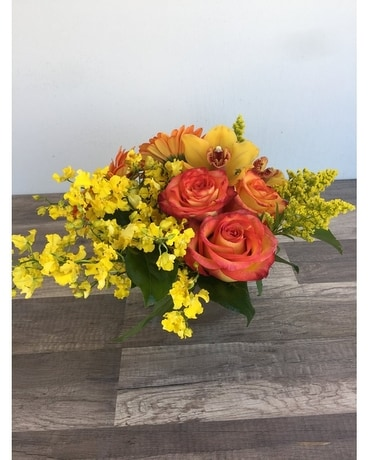 Heat Lightning Flower Arrangement