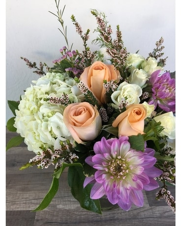 Blush Tones Flower Arrangement