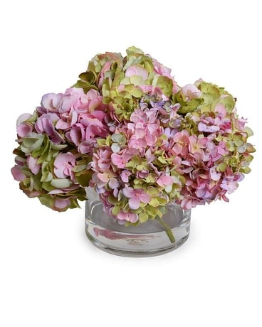 New Growth Designs Hydrangea Arrangement Flower Arrangement