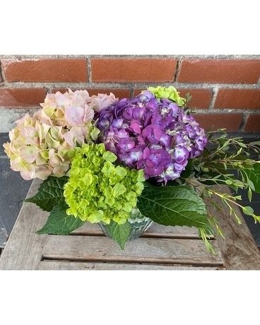 Sweet Southern Hydrangea Flower Arrangement