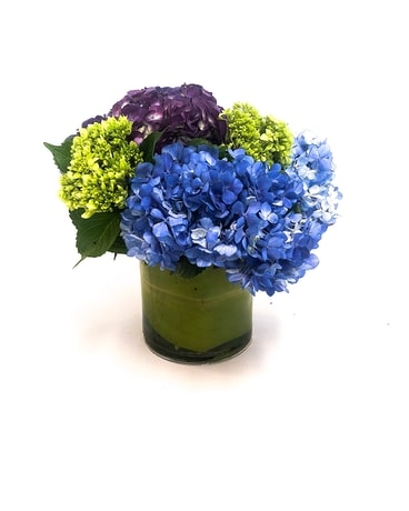 Out of the Garden Hydrangea Flower Arrangement