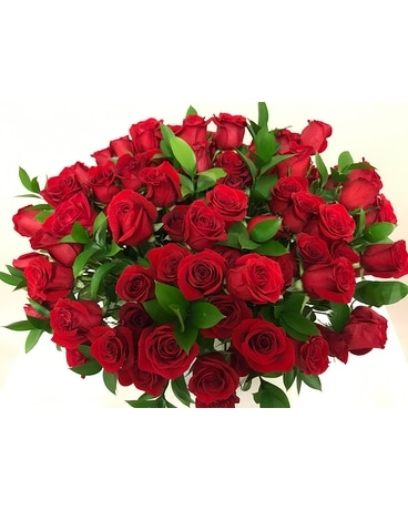 So much to LOVE - 100 ROSES Flower Arrangement