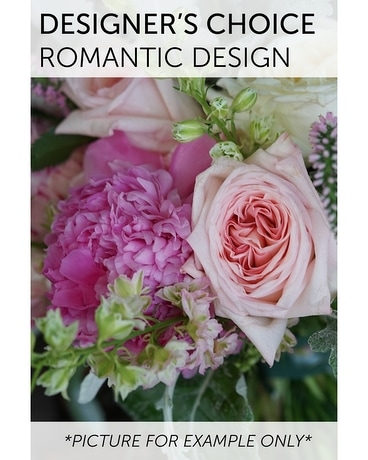 Designer's Choice - Romantic Design Flower Arrangement