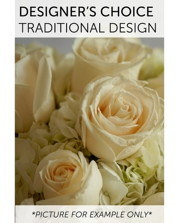 Designer's Choice - Traditional Design Flower Arrangement