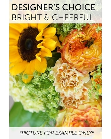 Designer's Choice - Bright and Cheerful Flower Arrangement