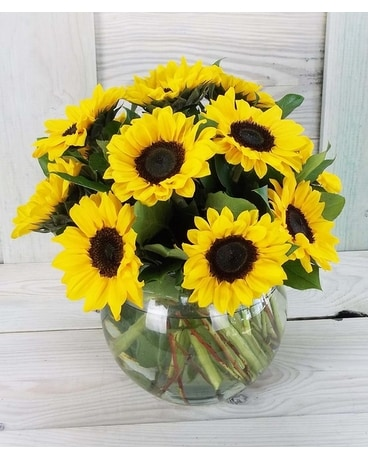 Simply Sunflowers Flower Arrangement