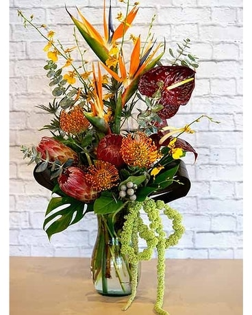 Tropical Romance Flower Arrangement