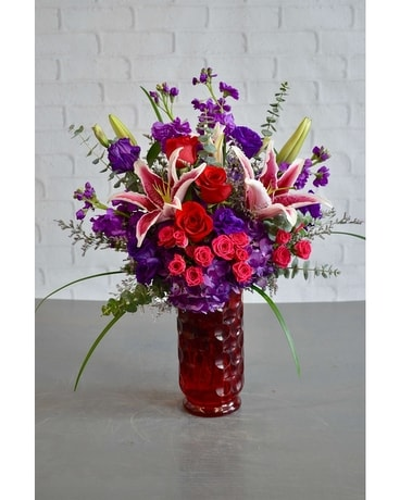 Wild Hearts Flower Arrangement