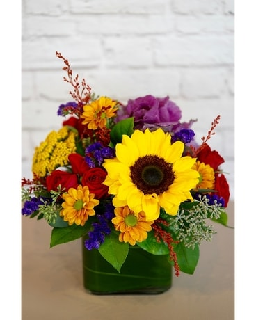 Autumn Hues Flower Arrangement