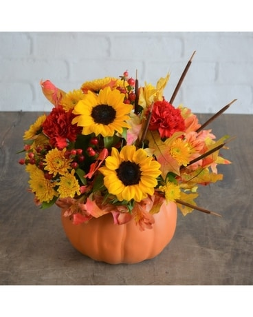 Fall Festival Flower Arrangement