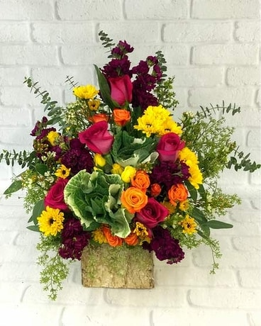 Misty Mountain Flower Arrangement