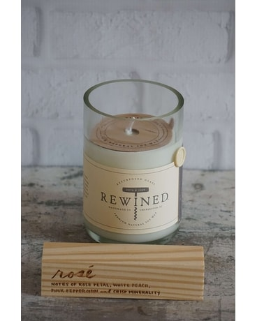 Rewined Rose Candle Gifts