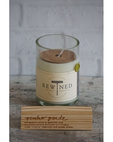 Rewined Vinho Verde Candle Gifts