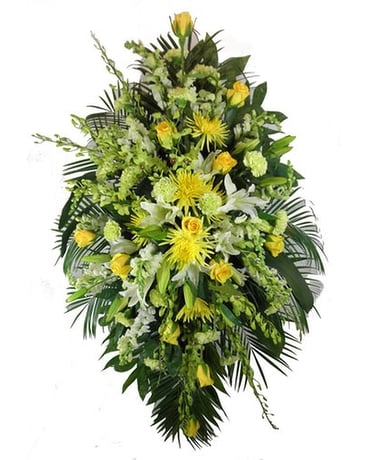 Sunshine Sentiments Funeral Arrangement