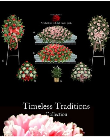 Timeless Traditions Collections Funeral Arrangement