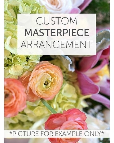 Custom Masterpiece Arrangement Flower Arrangement