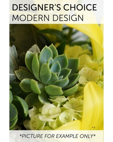 Designer's Choice - Modern Design Flower Arrangement