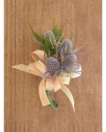 Thistle Corsage Corsage