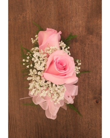 Pink Roses Corsage Corsage