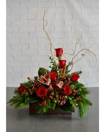 Christmas Flower Arrangements Images.A Mountain Christmas Sylvia S Amling S Flowers