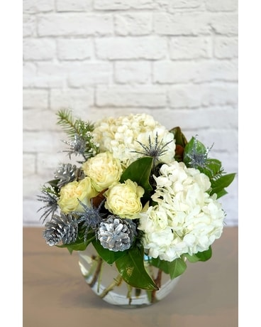 Frosty Air Flower Arrangement