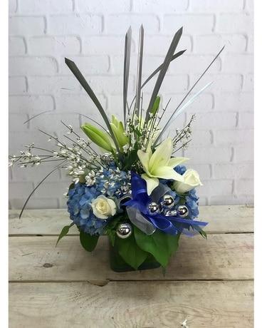 Hanukkah Festivities Flower Arrangement