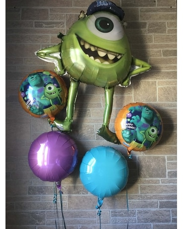 Monster's Inc Balloon Bouquet Gifts