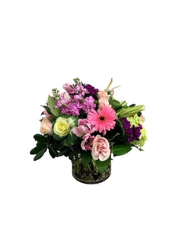 Subtle & Cheerful Arrangement Flower Arrangement