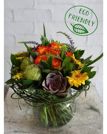 Eco friendly flowers lehrers flowers gaia mightylinksfo