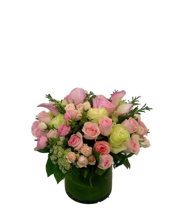 Perfect Pinks Flower Arrangement