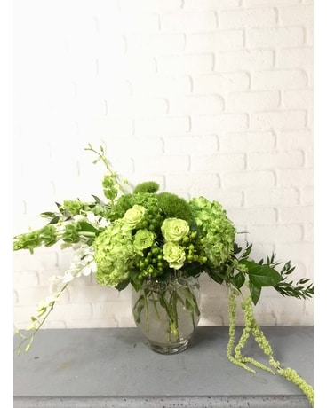 Shamrock Flower Arrangement