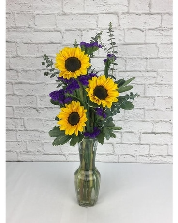 Heavenly Sunflowers Flower Arrangement