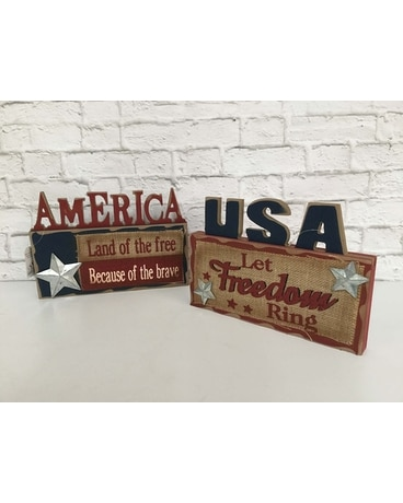 usa plaque martina s flowers and gifts