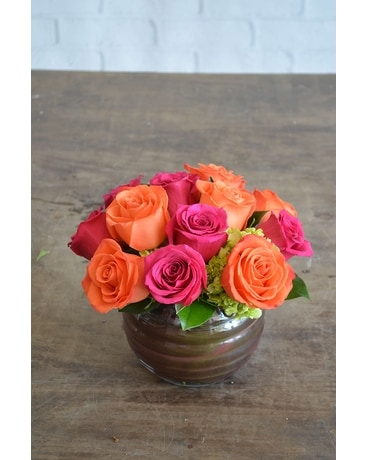 Bold Brights Flower Arrangement