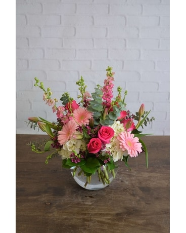 Dazzling Hues Flower Arrangement