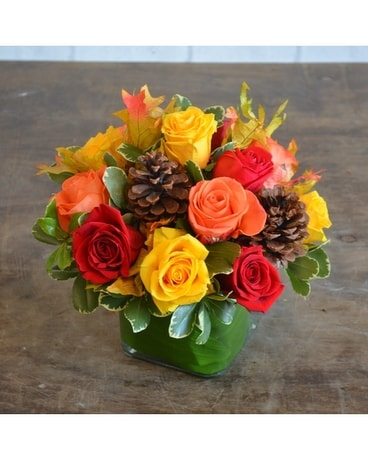 Fall Elizabeth Flower Arrangement