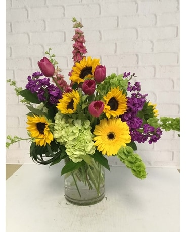 Sunflower Gardens Flower Arrangement