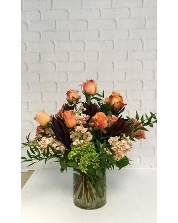 Peach Beauty Flower Arrangement