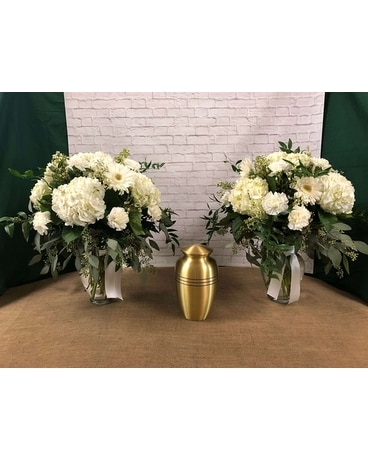 Serenity Cremation Vase Arrangement Flower Arrangement