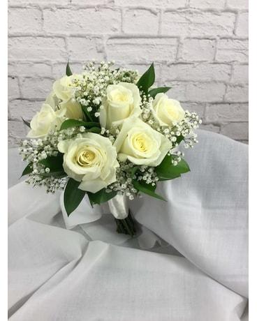White Rose Nose Bo Ty Walker Florist
