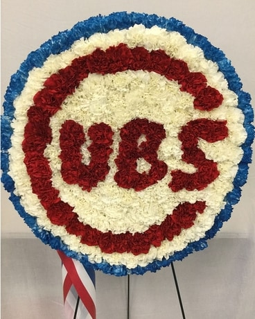 Cubs Standing Spray Flower Arrangement