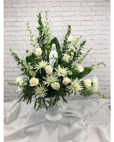 Heavenly Madonna Flower Arrangement