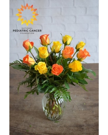 National Pediatric Cancer Foundation Bouquet Flower Arrangement