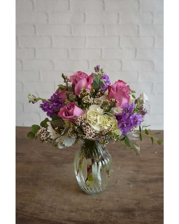 Gems of Lavender Flower Arrangement