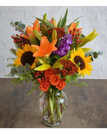 Fall Breeze Flower Arrangement
