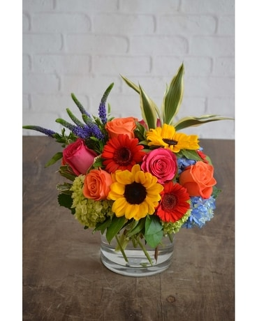 Enchanted Fall Flower Arrangement