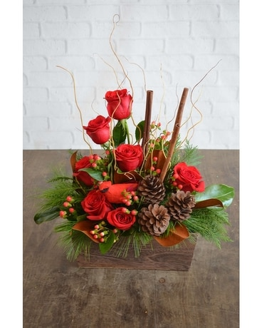 Cheerful Christmas Flower Arrangement