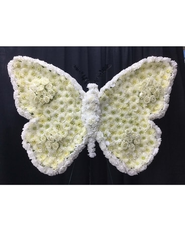Butterfly Standing Spray Flower Arrangement