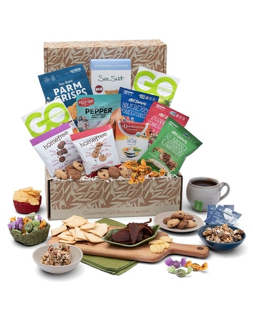 Think Outside The Bread Box (Gluten Free) Gift Basket